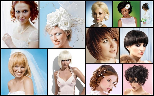 Свадебные прически на короткие волосы. могут быть самые разнообразные.  Если вы хотите сделать длинные локоны, вам...
