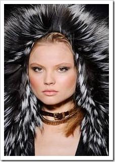 Модные фасоны шуб чернобурки