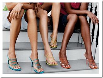 Как сделать ноги красивыми.