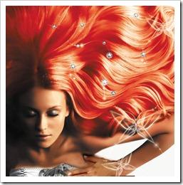 Наращивание волос на трессах.