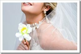 Серьги – оригинальное украшение образа невесты