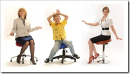 Ортопедическое кресло или танцующий стул?