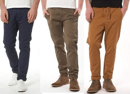 Чинос: Мужские брюки